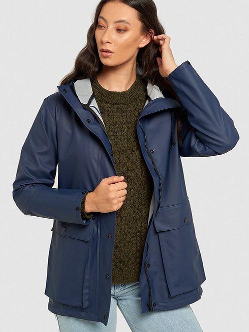 Raincoat - Bright Navy