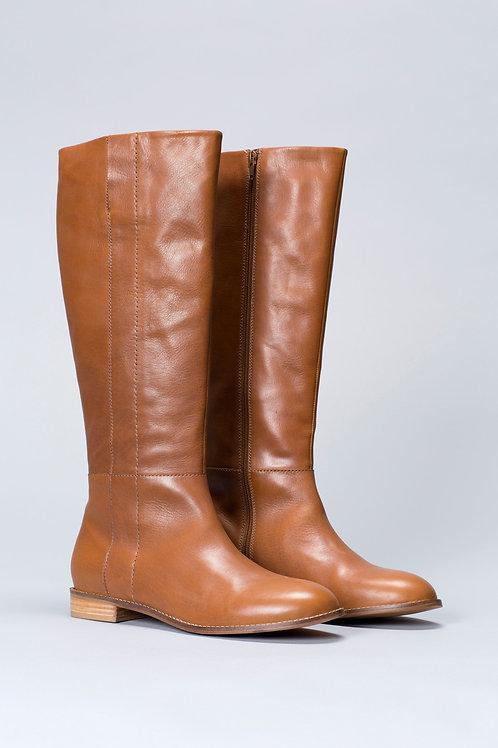 Oslo Long Boots - Tan