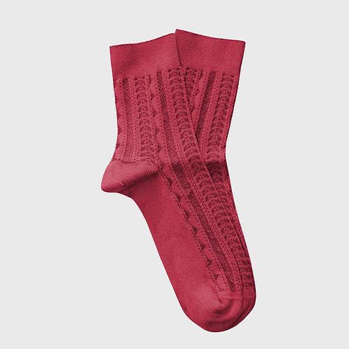 Tevere Socks - Raspberry