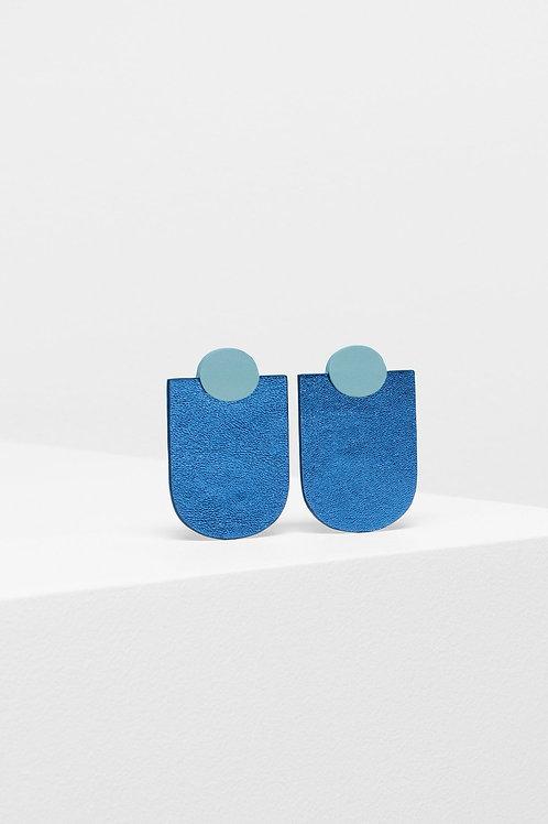 ELK - Knast Drop Earring - Grey/Blue