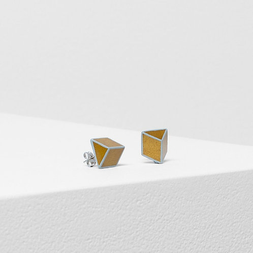 Torsby Earring - Yellow/Lunar Grey