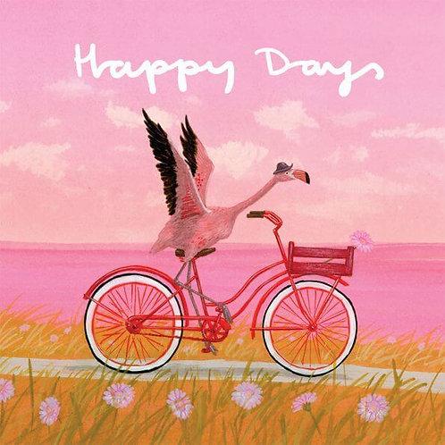 Greeting Card Happy Days
