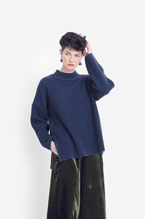 Eryka Sweater - Denim