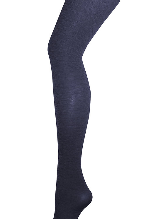 Luxe Wool Tights - Navy