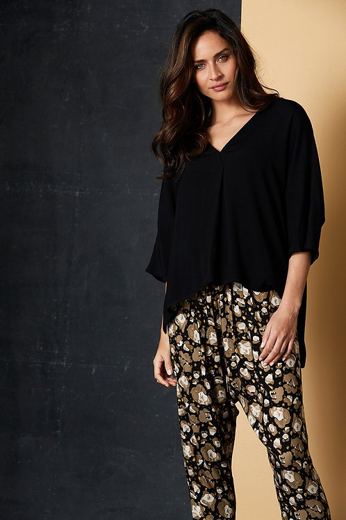 Staycation Top - Black