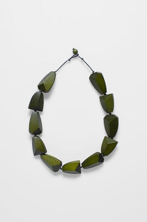 Sunne Necklace - Olive