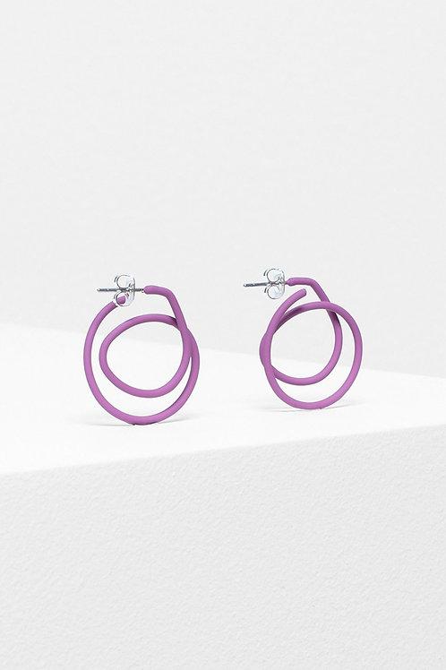 ELK - Spiral Earring - Pink