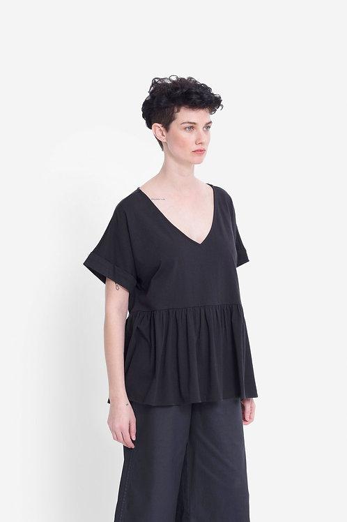 Alix Organic Top - Black