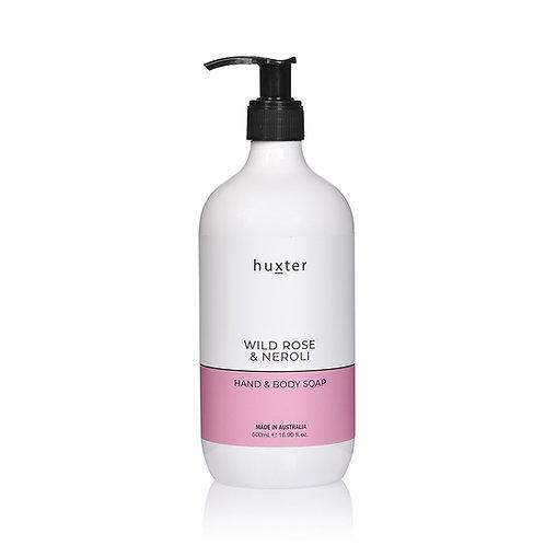 Hand & Body Soap - Wild Rose & Neroli