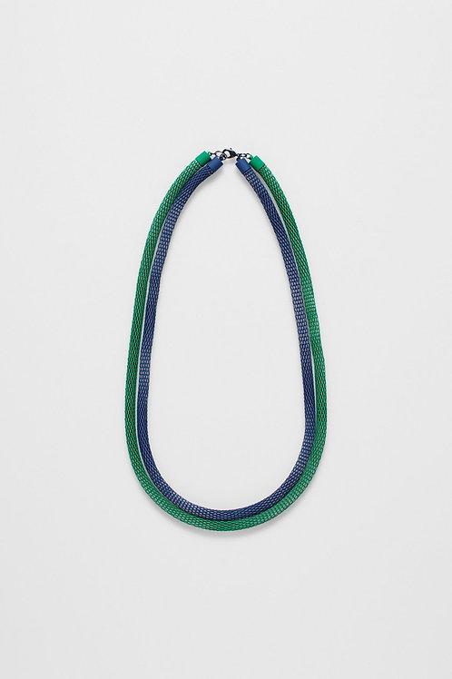 Britt Necklace - Green/Blue