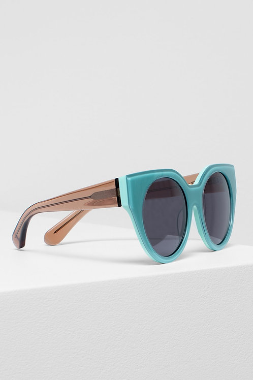 Naema Sunglasses - Mint/Rose Syrup