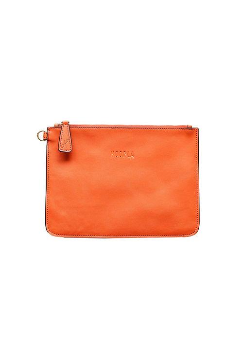 Hoopla Clutch - Orange