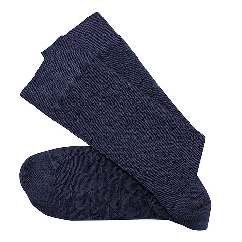 Theatre Long Socks - Navy