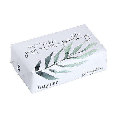Wrapped Soap -  'Green Leaves - Just a little Something