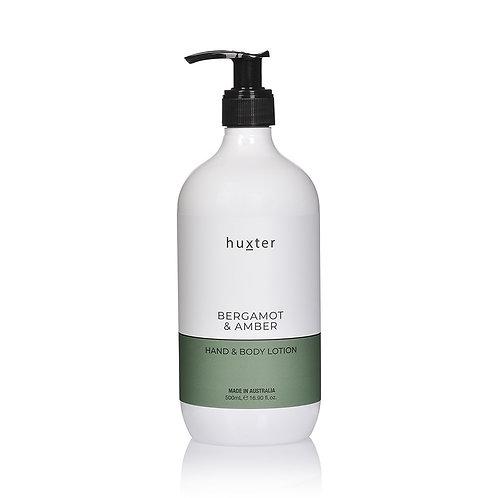 Hand & Body Lotion - Bergamot & Amber