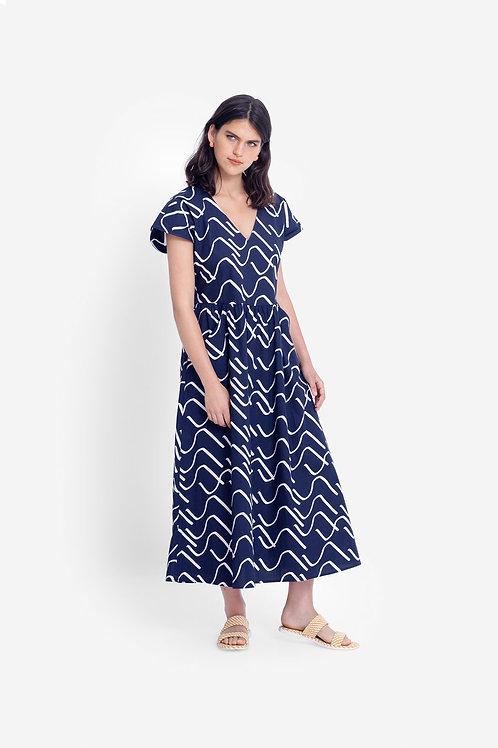 Ollie Dress - Ink/Ercu