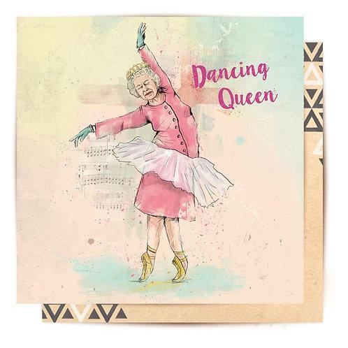 Greeting Card Dancing Queen