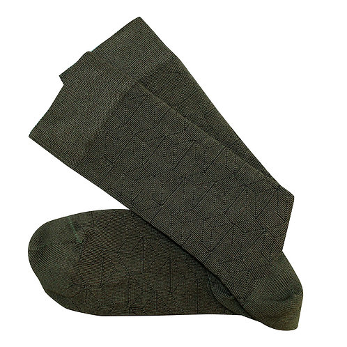 Theatre Long Socks - Olive