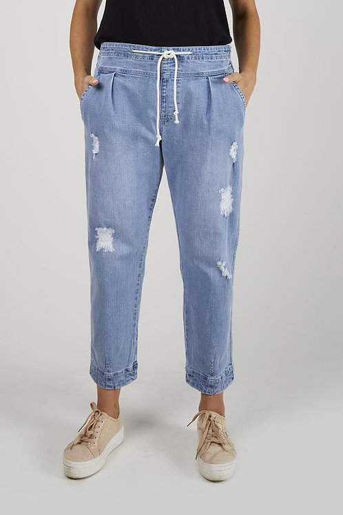 Slouch Distressed Jogger