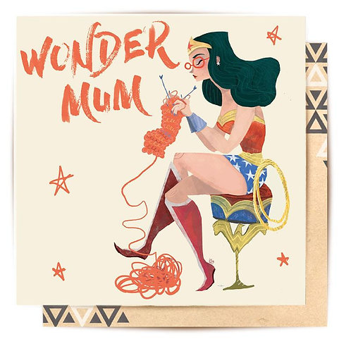 Greeting Card Wondermum II