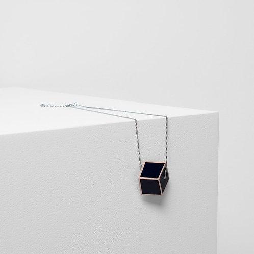 Torsby Necklace - Navy/Apricot