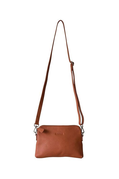 Hoopla Mini Cross Body Slouch Bag - Ochre
