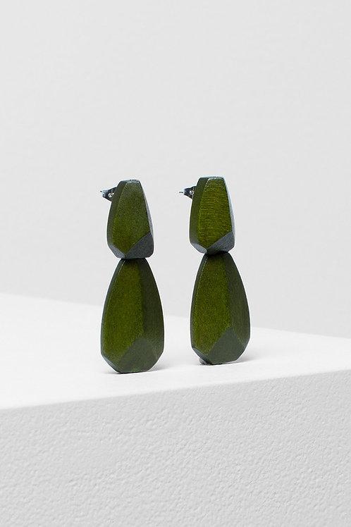 Sunne Drop Earring - Olive