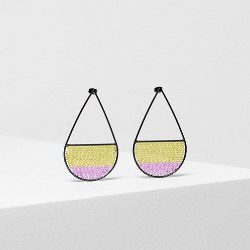 Jens Drop Earring - Lavender/Citronelle