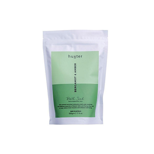 Bath Soak 500gm - Bergamot & Amber