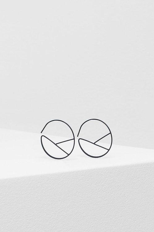Hallie Earring - Black