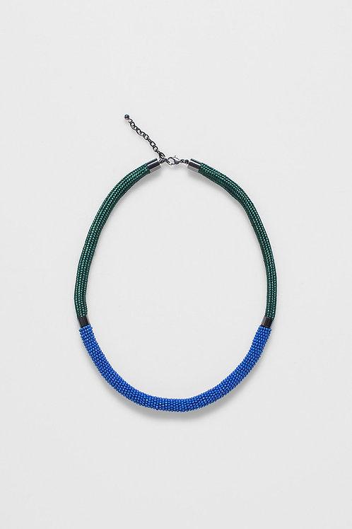 Rek Necklace - Bright Blue/Pondrosa