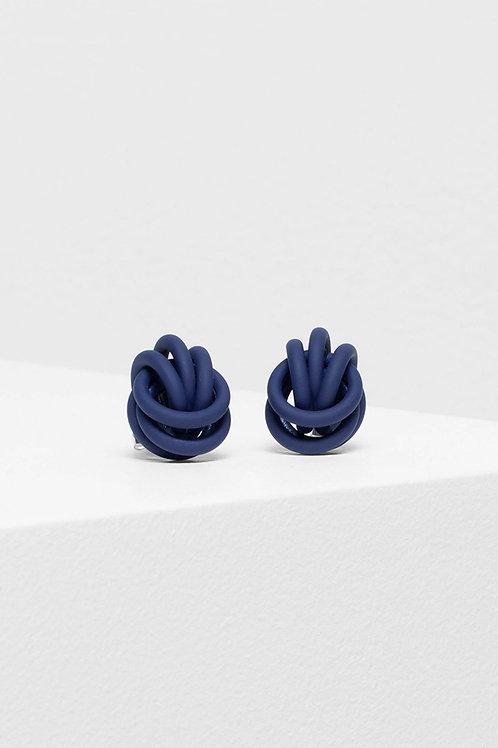 Bojor Stud Earring - Cobalt