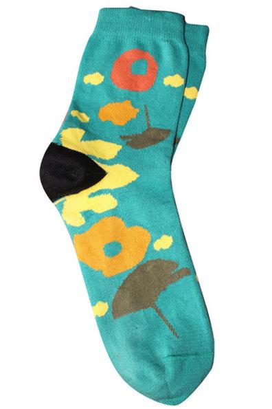 Eden Socks - Teal