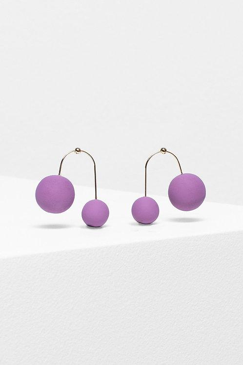 Aari Drop Earring - Pink