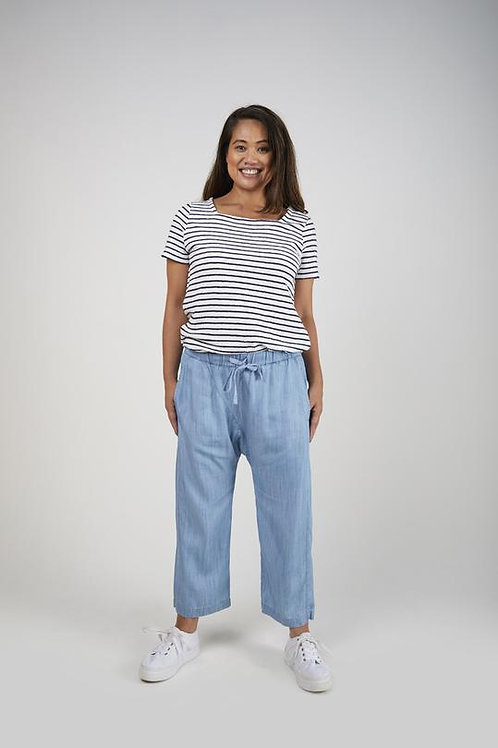 Relaxed Fit Pant - Chambray