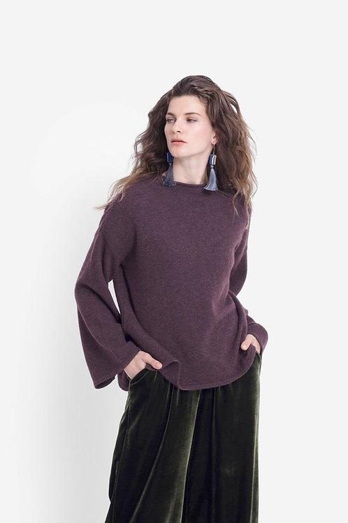 Hopper Sweater - Sangria