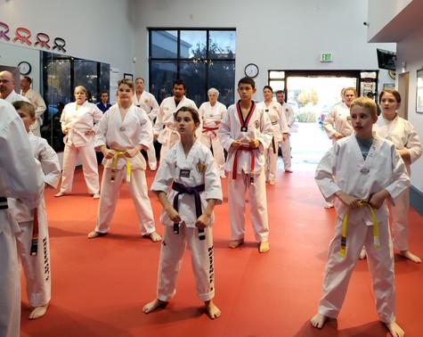 HS Taekwondo Juniors Class