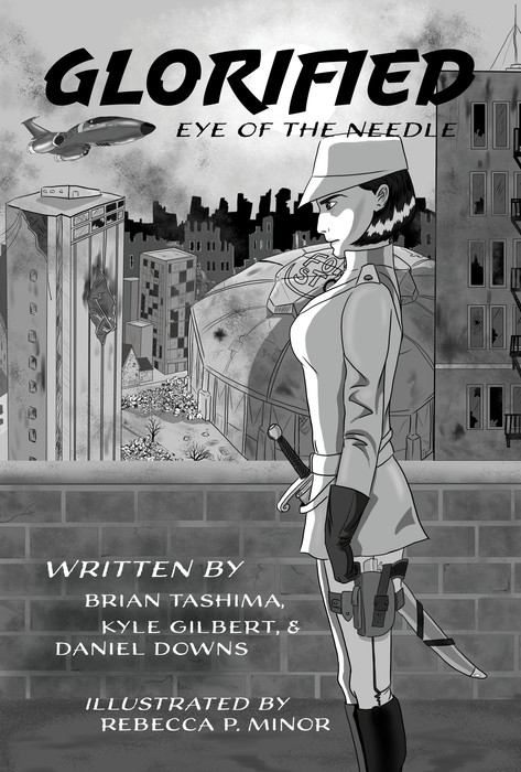 Glorified Cover with Text