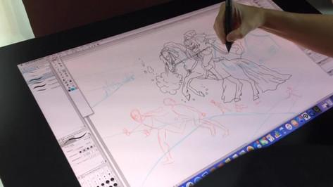 Digital Speed Drawing