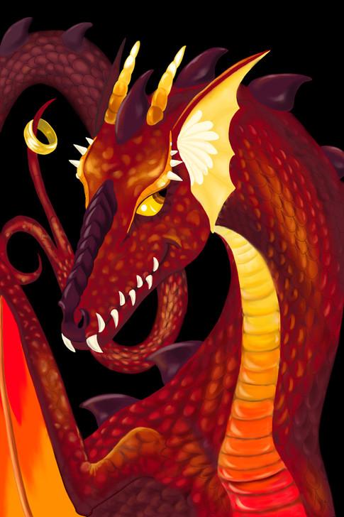 Digital Dragon Art