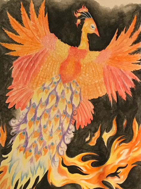 Watercolor on bristol