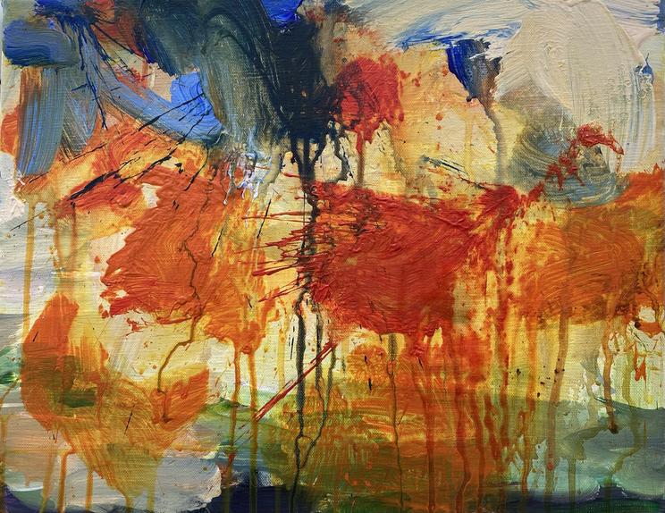 Splash of orange