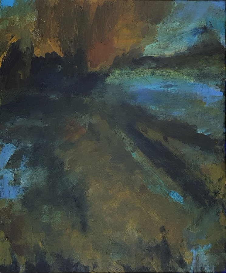 51. River at night
