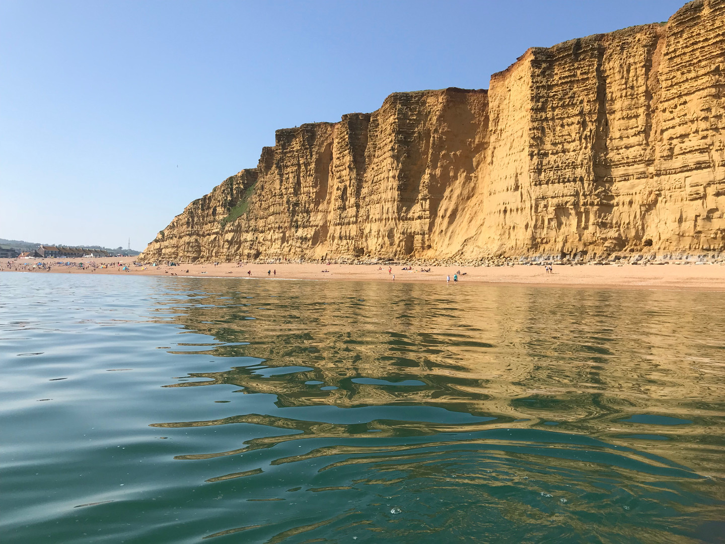 Jurassic Coast, West Bay Cliffs