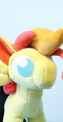 Custom made plushie handmade design