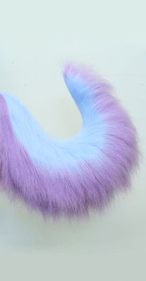 Fluffy custom husky costume tail