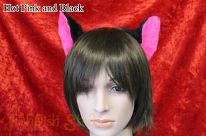 Example Mini Ears Pink/Black