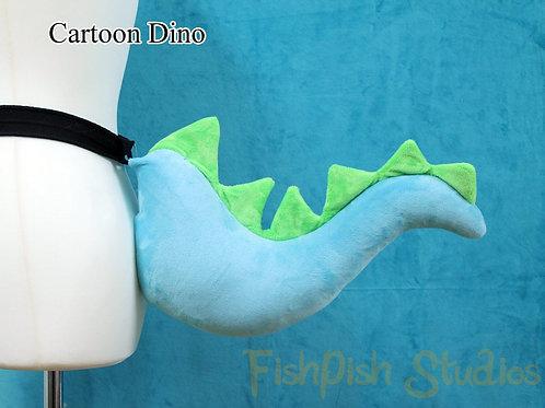 Cartoon Dinosaur Tail
