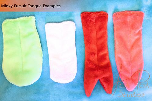Fursuit Tongue - Extra Long (XL) - 20 inches