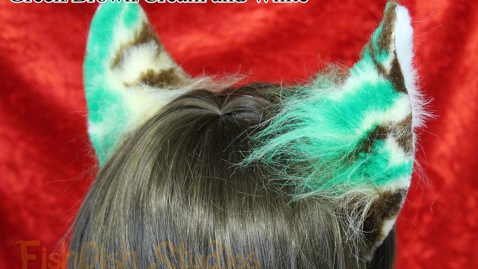 Camouflage / Splodge Flexi Cat Ear Headband
